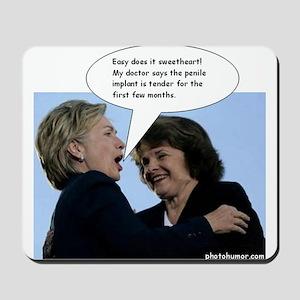 Hillary Clinton Photohumor.com Mousepad
