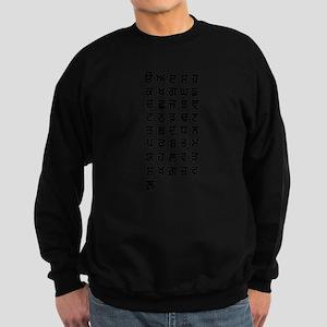 Punjabi Alphabets. Sweatshirt