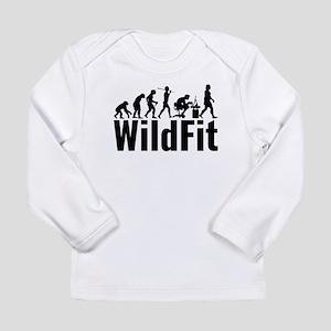 WildFit Logo Black Long Sleeve T-Shirt