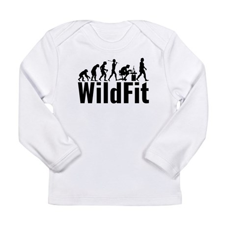 WildFit Logo Black Long Sleeve T-Shirt