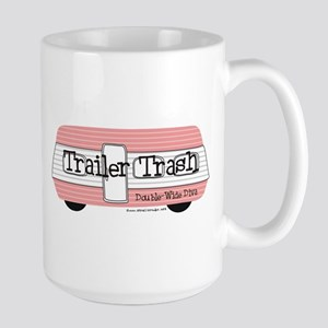 Double Wide Diva - Trailer Large Mug