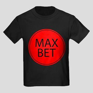 Max Bet Kids Dark T-Shirt