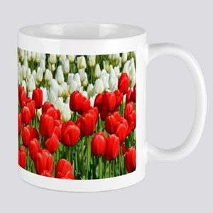 Colorful rows of spring Stainless Steel Trave Mugs