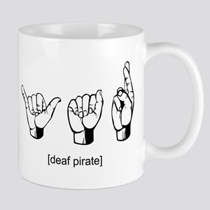 Deaf Pirate Mug