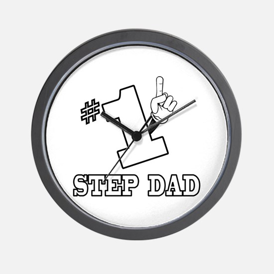 #1 - STEP DAD Wall Clock