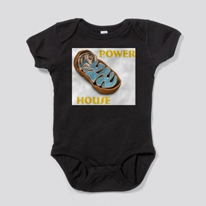 Mitochondria Power House Infant Bodysuit Body Suit
