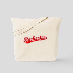 Retro Rochester (Red) Tote Bag