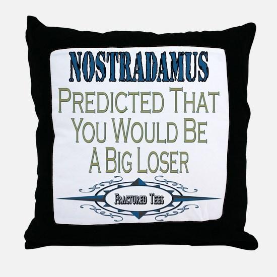 Nostradamus Throw Pillow