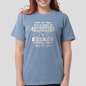Awesome MeeMaw Women's Dark T-Shirt