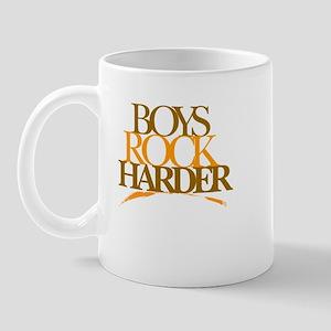 Boyz Rock Harder Mug
