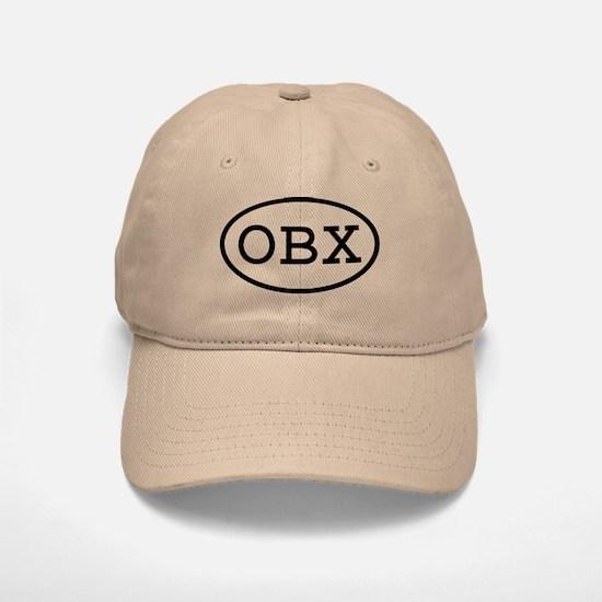 OBX Oval Baseball Baseball Cap