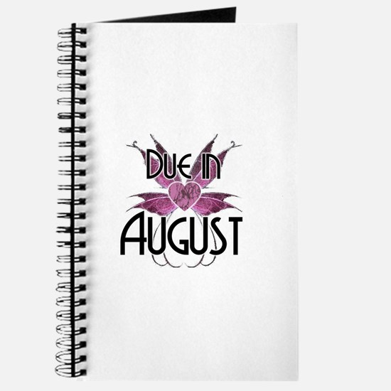 Due In August Fairy Wings Journal