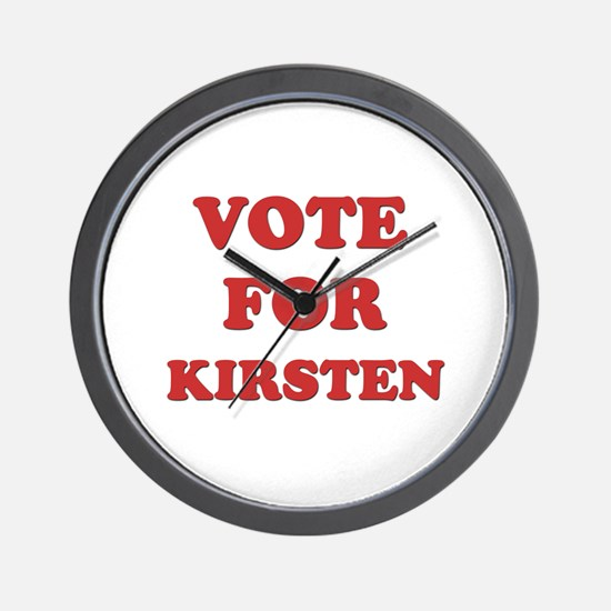 Vote for KIRSTEN Wall Clock