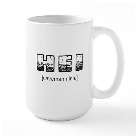 Caveman Ninja Large Mug