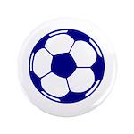 Blue Soccer Ball 3.5