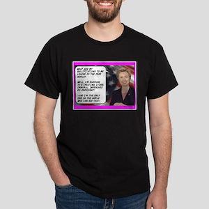 """Hillary's qualifications"" Dark T-Shirt"