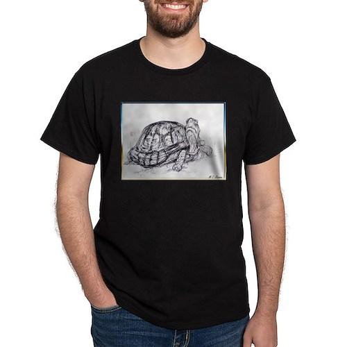 lack/white desert tortoise art T-Shirt