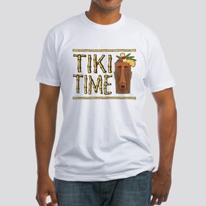 Tiki Time - Fitted T-Shirt