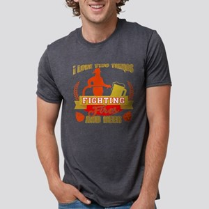 Fighting Fires And Beer T Shirt T-Shirt