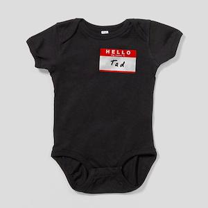 Tad, Name Tag Sticker Infant Bodysuit Body Suit