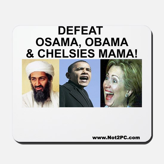 osama-obama-mama Mousepad