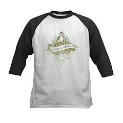 Buddha Rocks Kids Baseball Jersey