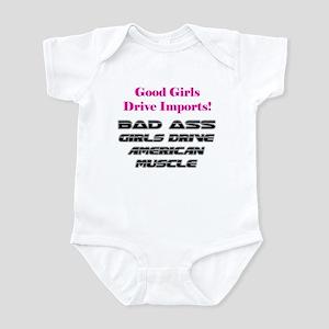 Bad Ass Girls Infant Bodysuit