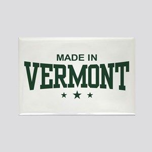 Made in Vermont Rectangle Magnet