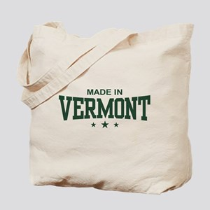 Made in Vermont Tote Bag