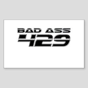 Bad Ass 429 Rectangle Sticker