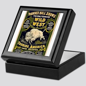Pawnee Bill Keepsake Box