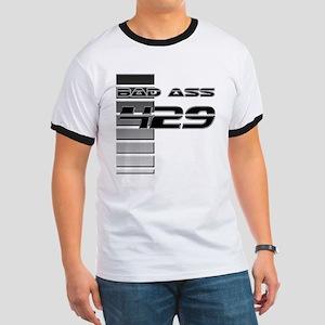 Bad Ass 429 w/ Stripes Ringer T
