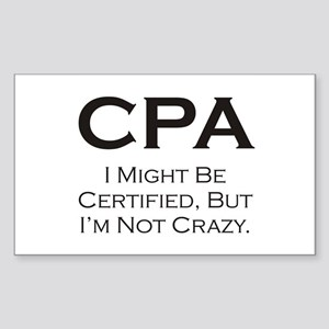 CPA #3 Rectangle Sticker