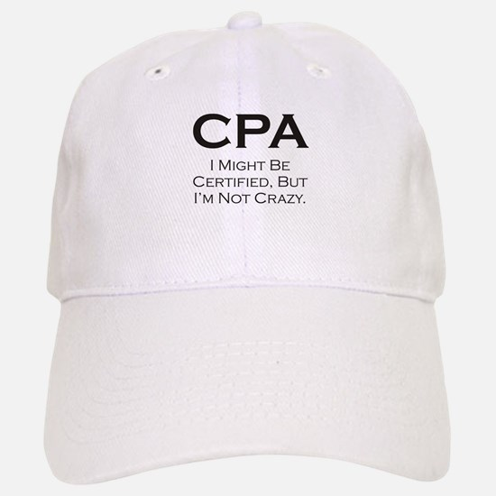 CPA #3 Baseball Baseball Cap