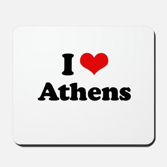 I love Athens Mousepad