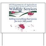 Abolish Wildlife Services Yard Sign