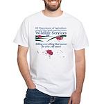 Abolish Wildlife Services White T-Shirt