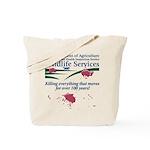 Abolish Wildlife Services Tote Bag