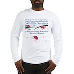 Abolish Wildlife Services Long Sleeve T-Shirt