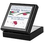 Abolish Wildlife Services Keepsake Box