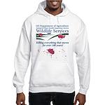 Abolish Wildlife Services Hooded Sweatshirt
