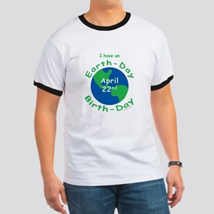 Earth Day Birthday Ringer T