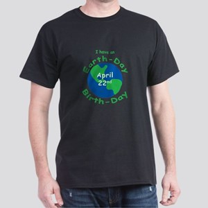 Earth Day Birthday Dark T-Shirt