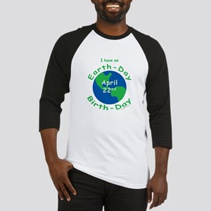 Earth Day Birthday Baseball Jersey