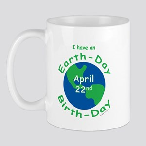Earth Day Birthday Mug