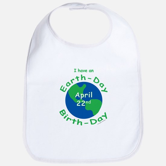 Earth Day Birthday Bib
