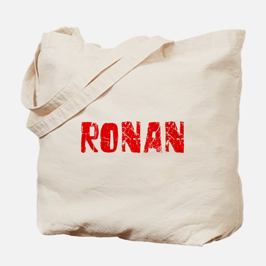 Ronan Faded (Red) Tote Bag