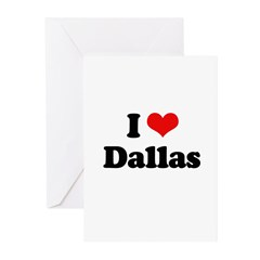 I love Dallas Greeting Cards (Pk of 20)
