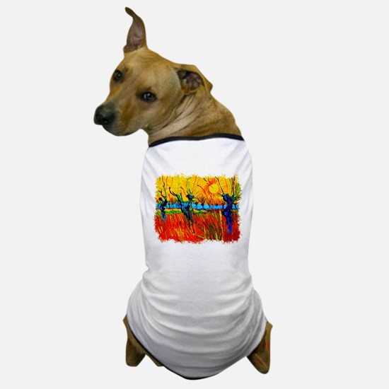 Funny Expressionism Dog T-Shirt