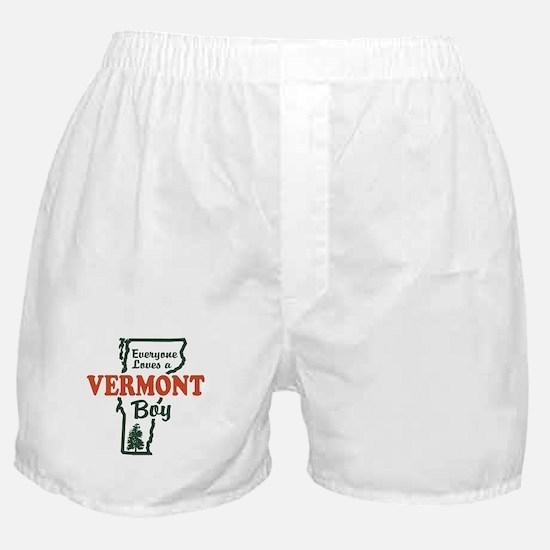 Everyone Loves a Vermont Boy Boxer Shorts